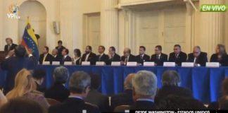 Magistrados del TSJ en la OEA