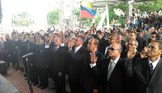 TSJ designado por el parlamento se instala en la OEA #13Oct — FOTOS