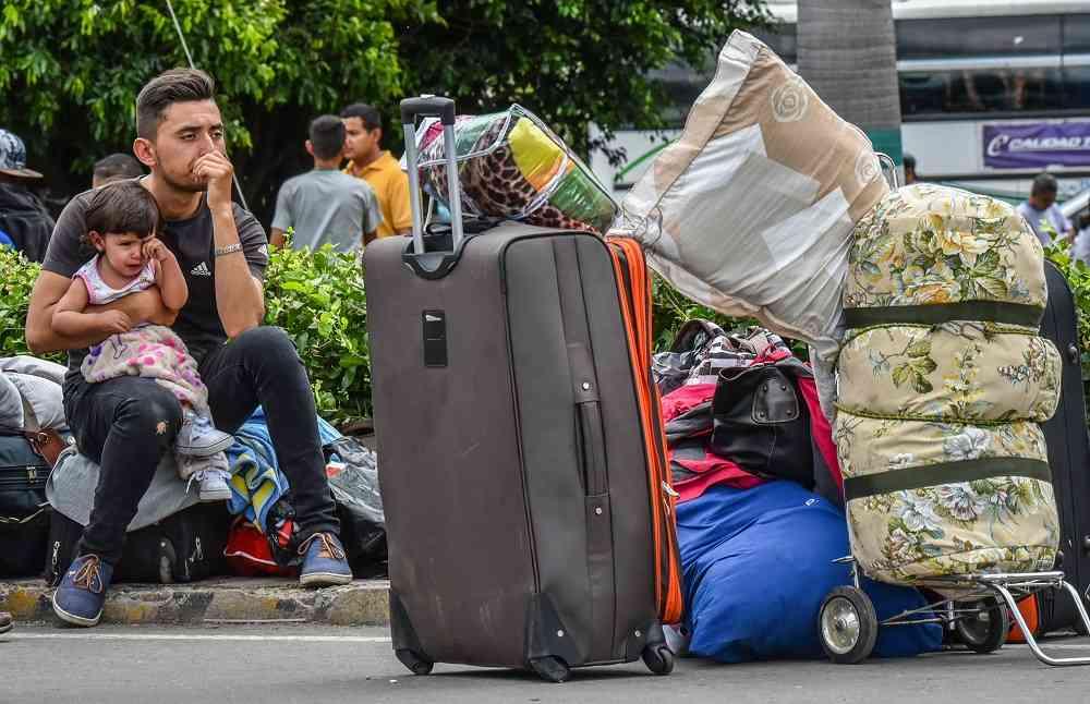 Al menos 470 mil venezolanos están en Colombia