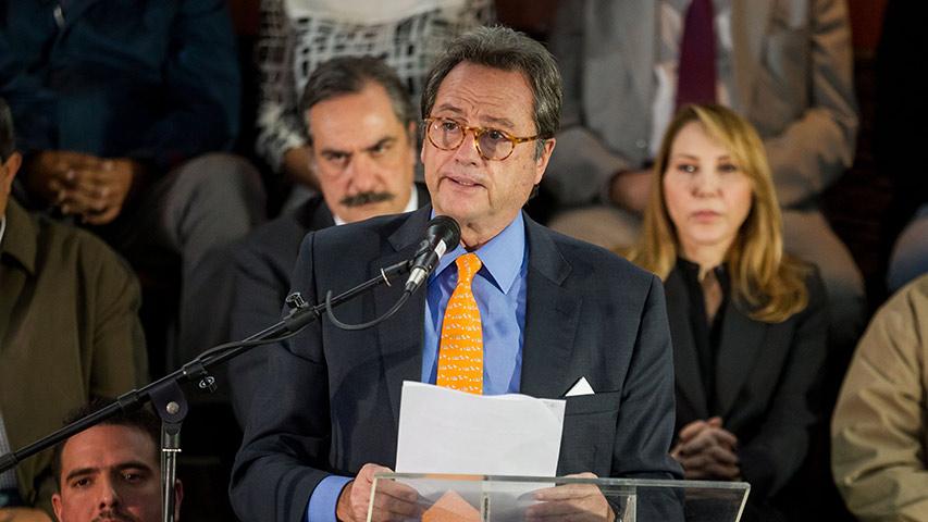 Oposición presentó delegación que irá al diálogo en República Dominicana