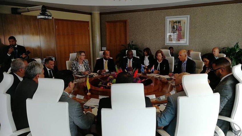 Reunión con Aruba, Curazao y Bonaire fue muy fructífera — Castro Soteldo