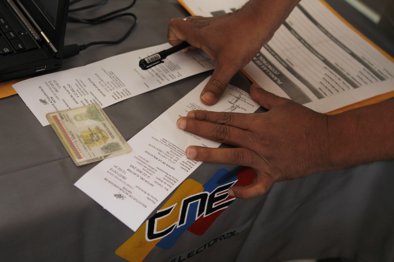 Inician jornada especial de actualización del registro electoral para presidenciales