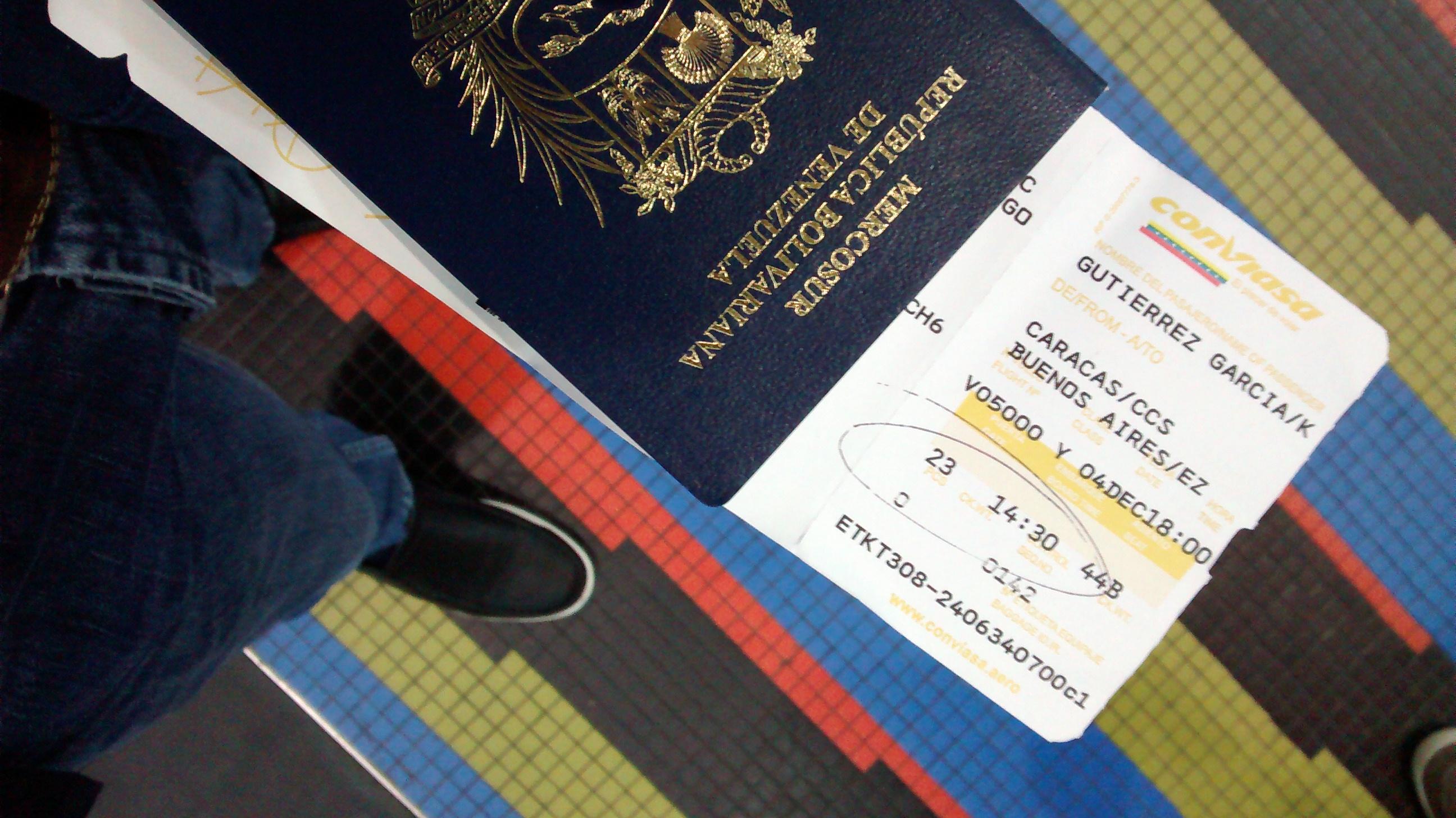 Argentina facilitará trámite de residencia a venezolanos