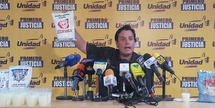 Carlos Paparoni: Leche distribuida en los CLAP no cumple con las normas