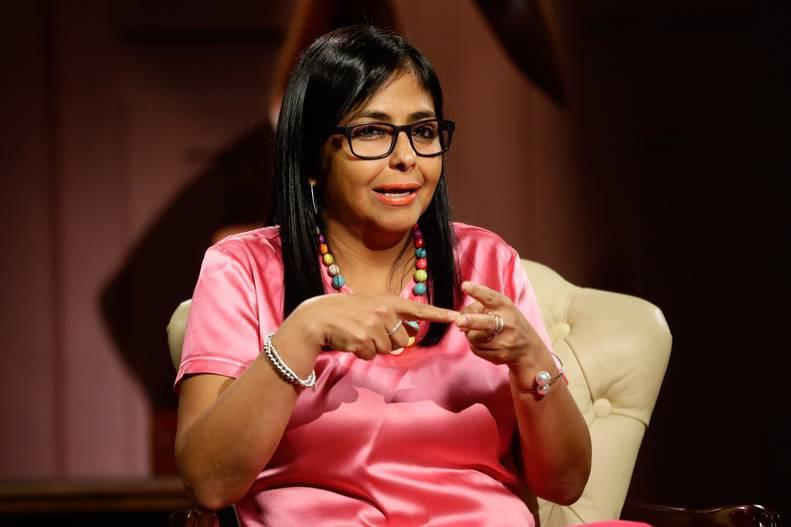 Delcy Rodríguez: Vienen buenas noticias, vienen anuncios económicos