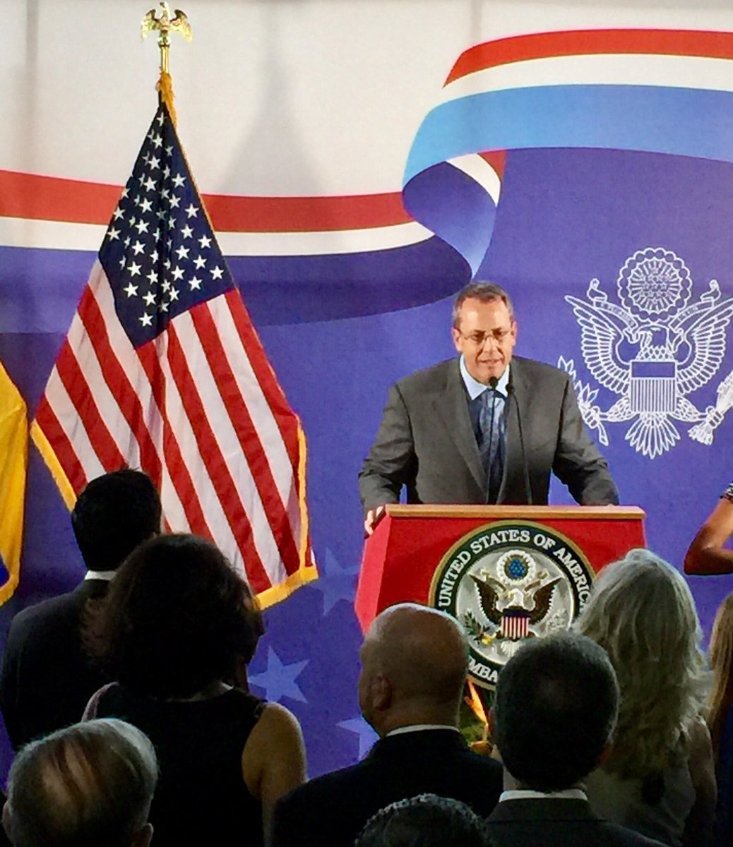 Encargado de Negocios de EEUU: Me mantendré junto al pueblo venezolano
