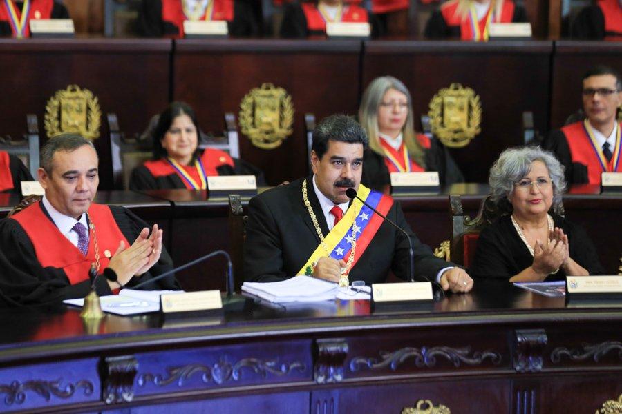Poderes del Estado venezolano respaldan mandato legítimo de Maduro