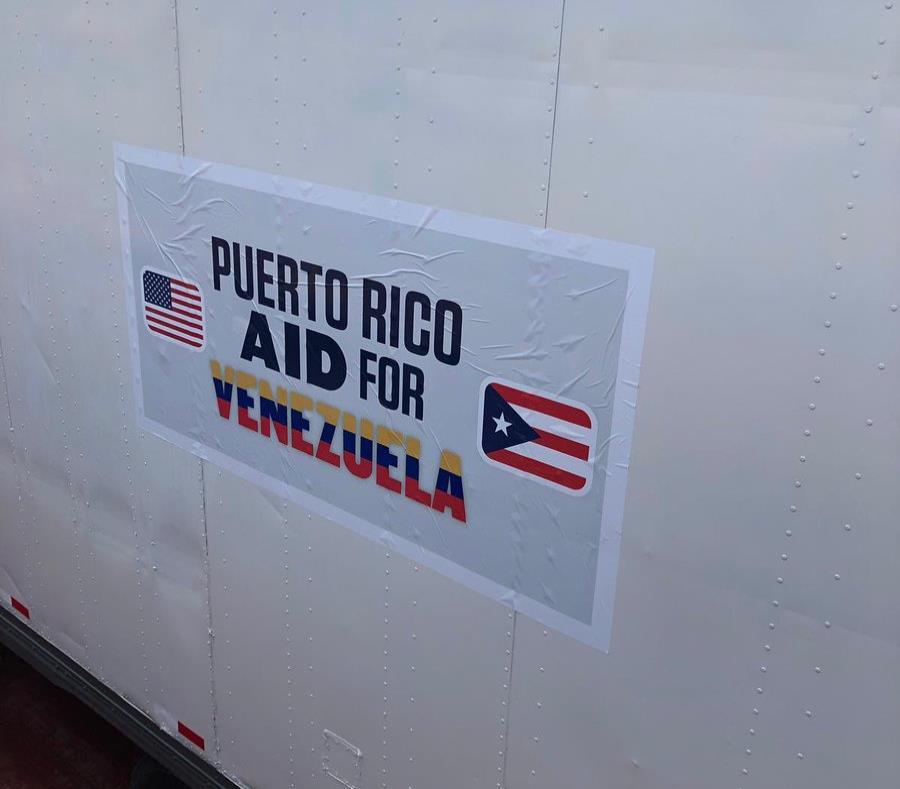 Barco con ayuda humanitaria de Puerto Rico está rumbo a Venezuela