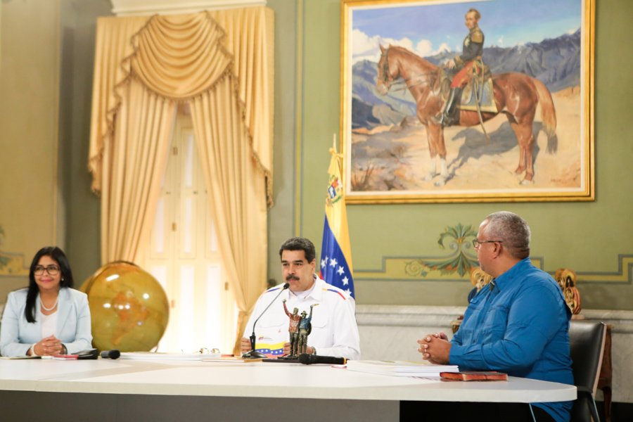 Venezuela tiene la primera reserva de níquel y diamante: Maduro