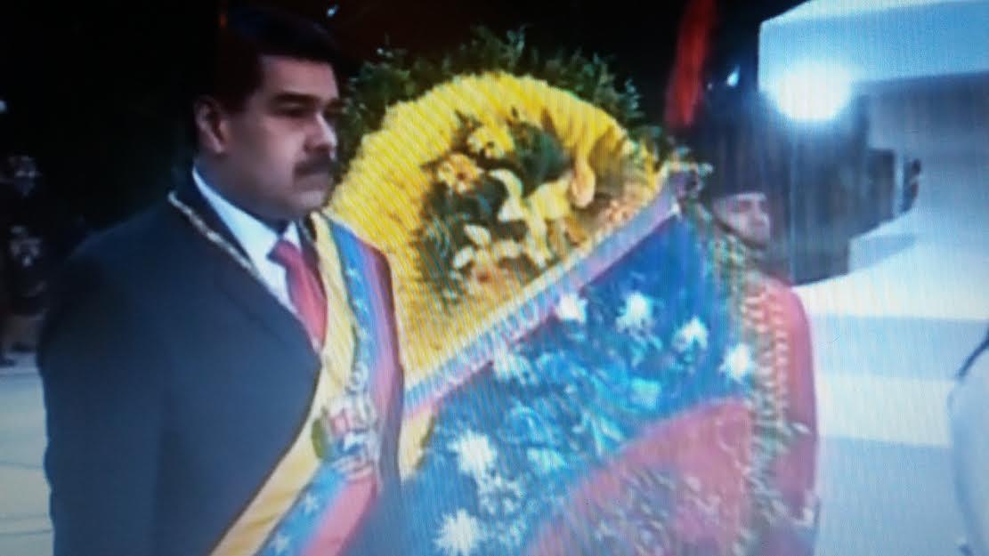 Jefe de Estado venezolano autoriza a la FANB responderle a Duque