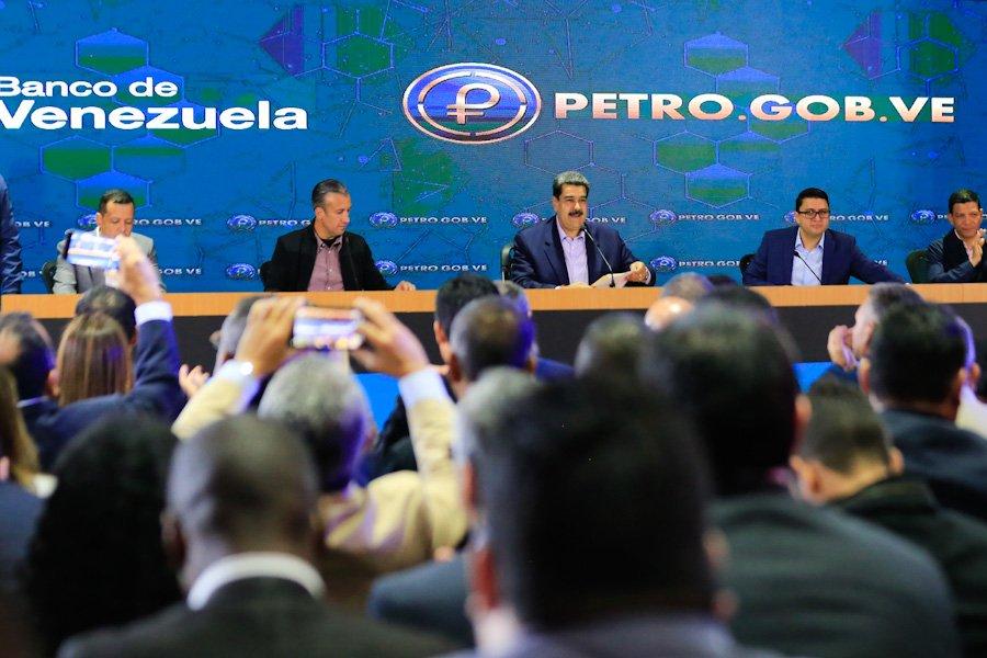 Avanza en Venezuela habilitación de criptomoneda petro