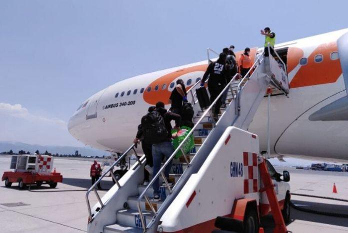 México recibirá vuelo de extranjeros proveniente de Venezuela