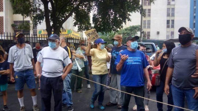 protesta por escasez de agua
