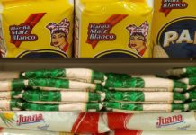 Hay competencia en precios de la harina para las arepas