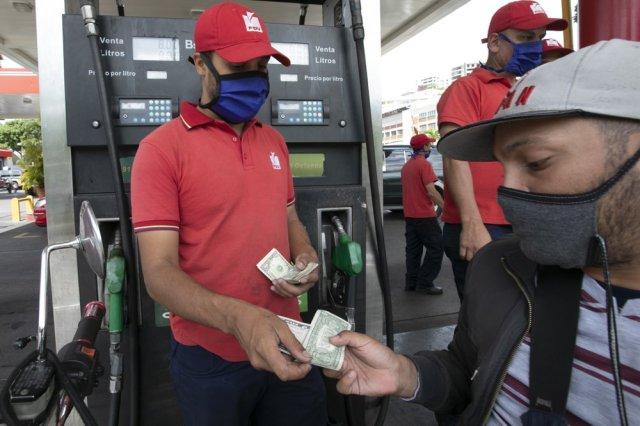 gasolina en Venezuela