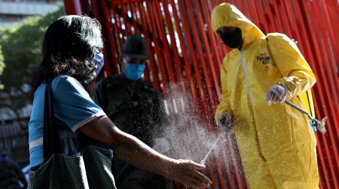 Venezuela registró 449 casos de COVID-19 para un total de 13.613