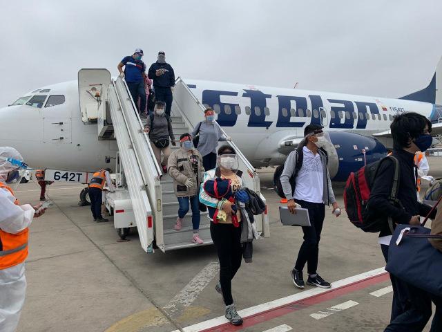 Aerolíneas Estelar continúa los vuelos de repatriación