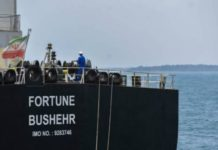 Fiscales de EE.UU. piden incautar cuatro barcos que llevan combustible iraní a Venezuela