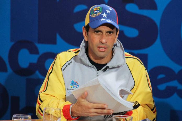 Capriles tras indulto del régimen: