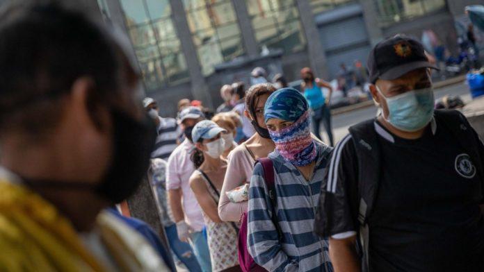 Venezuela registró 1.012 casos de covid-19 para un total de 31.381