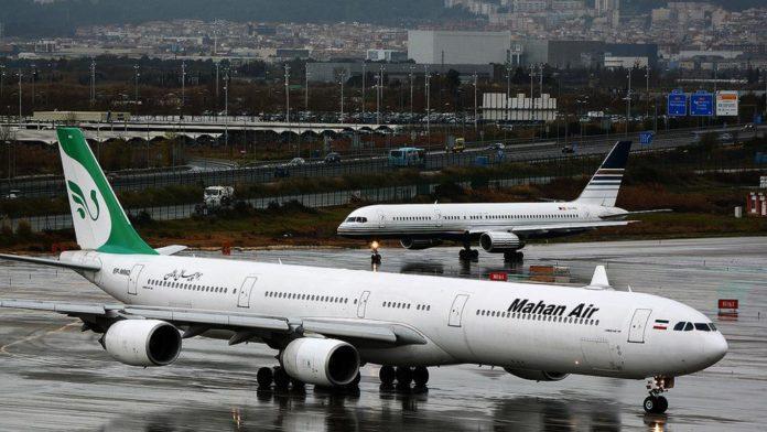 EEUU sancionó a dos empresas Árabes por colaborar con aerolínea iraní vinculada con el régimen de Maduro