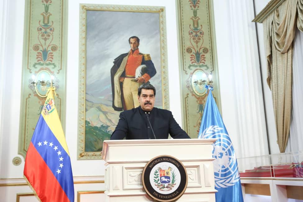 Nicolás Maduro pidió a la ONU crear un