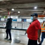 Inspeccionaron las medidas de bioseguridad en el aeropuerto de Maiquetía