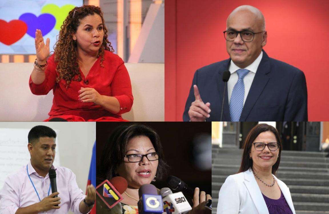 Jorge Rodríguez, Iris Varela y otros 6 ministros abandonan sus cargos para postularse al proceso del 6D