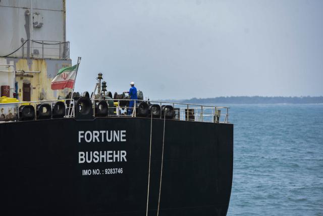 El tanquero iraní Fortune descargó gasolina en la refinería de Amuay este #1Oct
