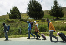 "Historias de caminantes: ""Es muy triste migrar por segunda vez"""