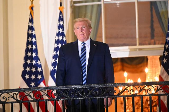 Donald Trump regresó a la Casa Blanca tras su tratamiendo contra el covid-19 (+video)