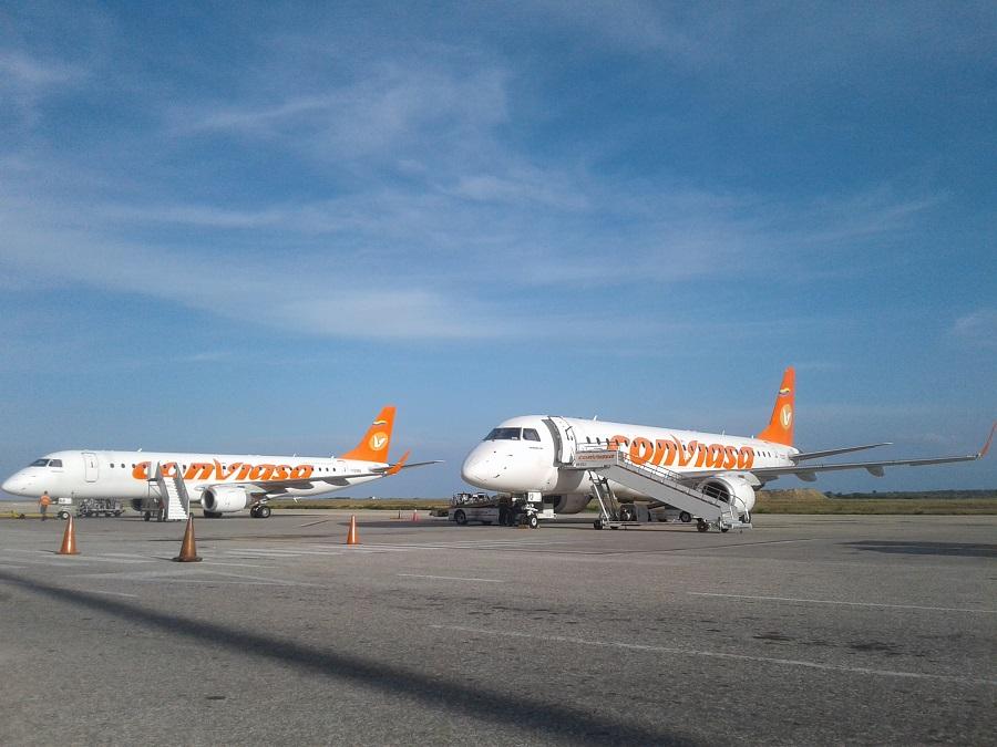 Conviasa reactiva vuelos humanitarios a Santo Domingo y a Cancún