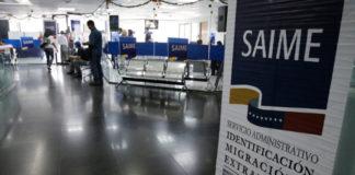 Tras meses sin servicio del Saime, en Lara atenderán un máximo de 250 personas por día