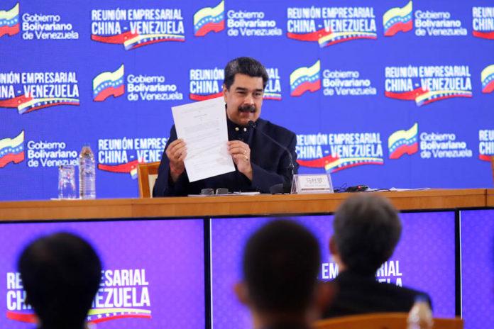 Maduro: Nosotros invitamos a todas las empresas mixtas y privadas de China, vengan a invertir en Venezuela