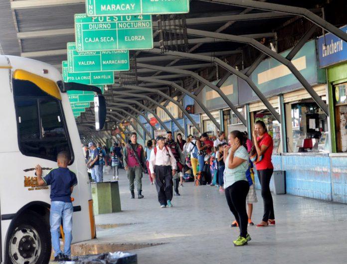 Terminales terrestres abrirán desde el 30 de noviembre