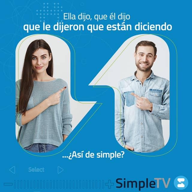 Simple TV anunció las tarifas del servicio que comenzarán a regir a partir de diciembre