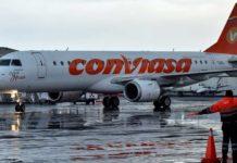 Conviasa reprograma vuelos sin costo ni penalidad adicional