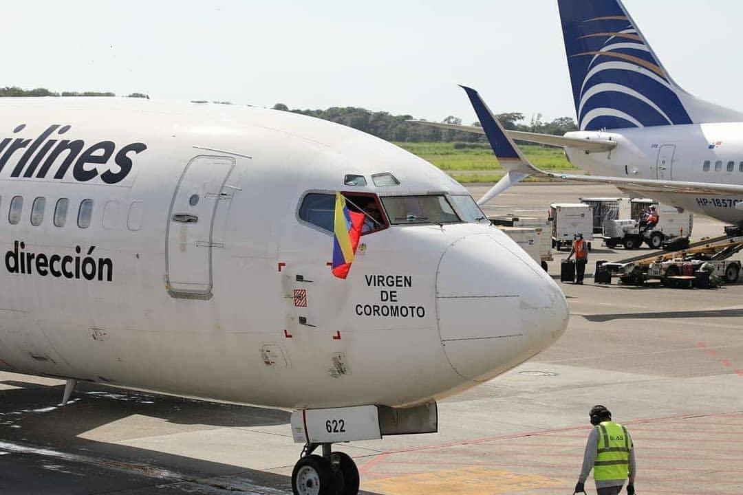 Estas son las primeras imágenes del reinicio de operaciones de Turpial Airlines