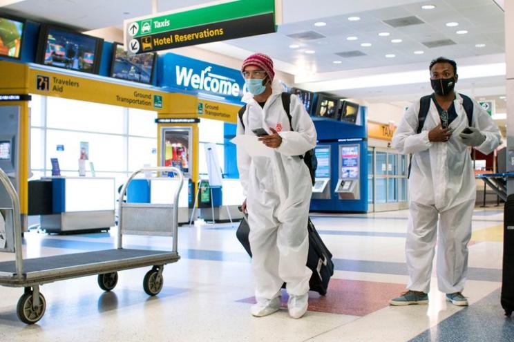 Estados Unidos comenzaría a pedir test de coronavirus negativos a todos los turistas que quieran visitar el país