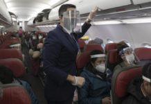 La industria del transporte aéreo estará en números rojos durante todo 2021