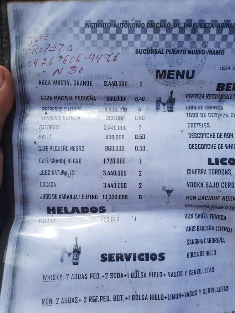 La suma que debe desembolsillar en La Guaira por un día de playa