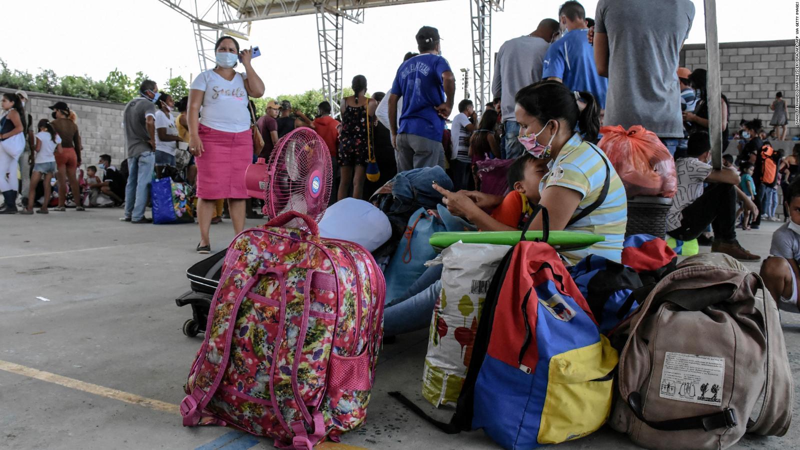 Colombia busca mecanismos para que desplazados de Apure puedan acceder al Estatus de Protección Temporal