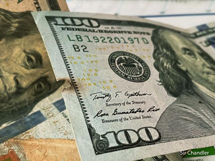 Hay una falsa creencia sobre los dólares deteriorado
