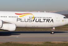Plus Ultra niega tener un monopolio con vuelos humanitarios Caracas- Madrid