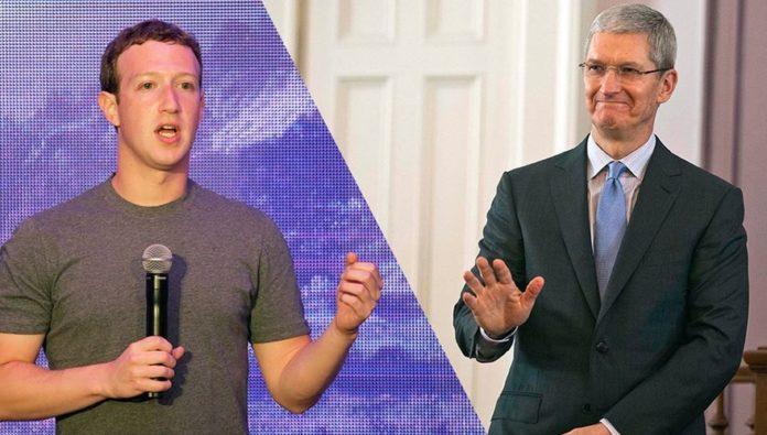Facebook vs. Apple: la historia de cómo Mark Zuckerberg y Tim Cook se volvieron enemigos
