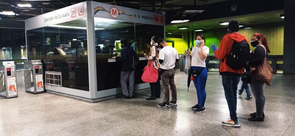 Estos son los medios de pago y nuevas tarifas del metro de Caracas