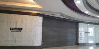 Cerraron tiendas Zara, Bershka y Pull&Bear del Centro Comercial Líder