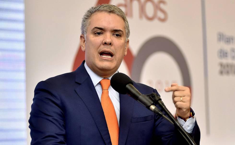 """El Mundo: Iván Duque: """"En Colombia hay políticos que quieren capitalizar el  caos y cabalgar el odio"""" - Descifrado"""