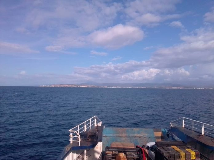 En ferry hacia Margarita rechazan bolívares en efectivo para pagar el pasaje