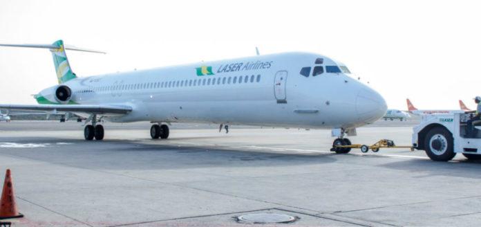 Laser Airlines reiniciará sus operaciones en Venezuela la próxima semana